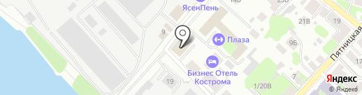 СВЕЗА Кострома на карте Костромы