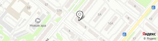 Ручеёк на карте Костромы