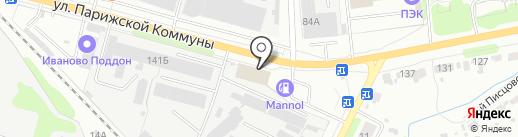 АВТОТЕХЦЕНТР на карте Иваново
