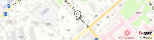 Защита на карте Костромы