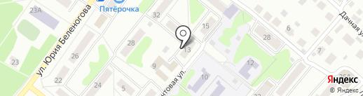 I LOVE DANCE на карте Костромы