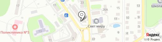 ТоАвТо на карте Костромы