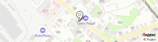 Областной центр медицины катастроф на карте Костромы