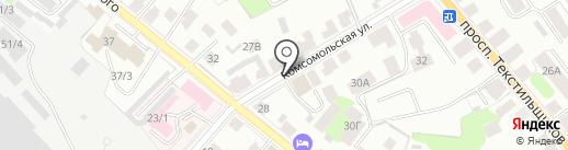 Торгово-промышленная палата Костромской области на карте Костромы
