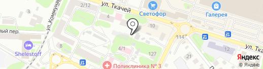 Костромской областной наркологический диспансер на карте Костромы