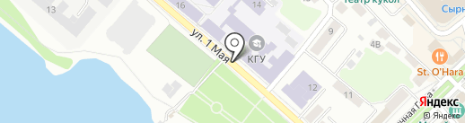Кострома продпромторг на карте Костромы