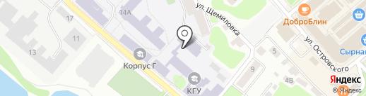 Green & Meat на карте Костромы