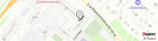 STUDIO 78 на карте Костромы