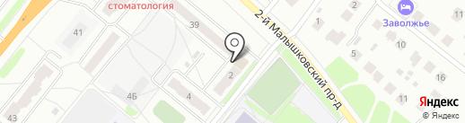 Practica на карте Костромы