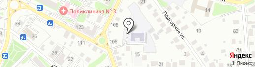 Гимназия святой равноапостольной княгини Ольги на карте Костромы