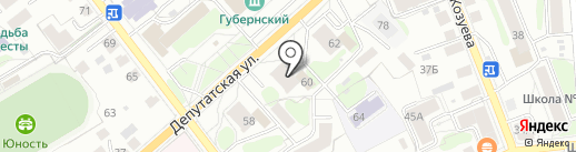 ДАРЬЯЛ на карте Костромы