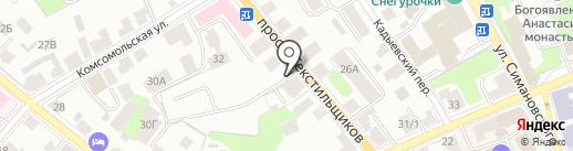 СтройСити на карте Костромы