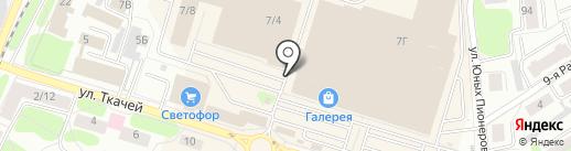 Мягкий стиль на карте Костромы