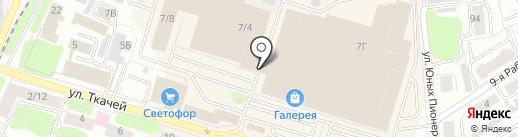 Родник 44 на карте Костромы