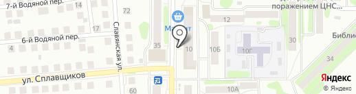 Сбербанк, ПАО на карте Костромы