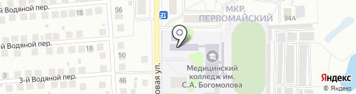 Столовая на карте Костромы