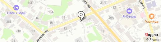 Цитадель на карте Костромы