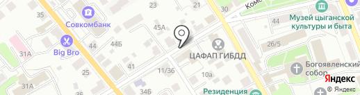 Отдел полиции №1 на карте Костромы