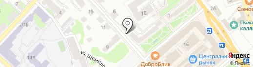 Праздники-Безобразники на карте Костромы