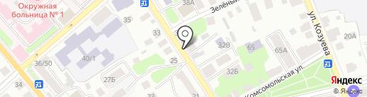 Развитие на карте Костромы