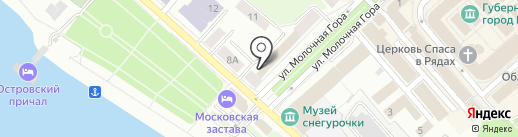 Департамент культуры Костромской области на карте Костромы