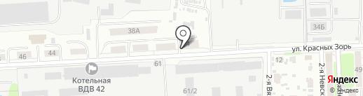 САБ на карте Иваново