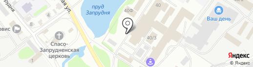 Гепард на карте Костромы