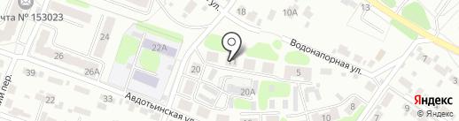 Городская библиотека №23 на карте Иваново