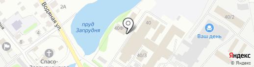 Октябрь на карте Костромы