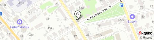 Пионер FM, FM 104.7 на карте Костромы