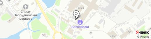 Вертикаль на карте Костромы