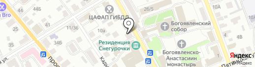 Лен`ОК на карте Костромы