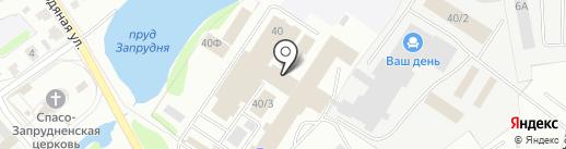 Айти-Идея на карте Костромы