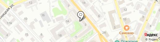 Старый приятель на карте Костромы