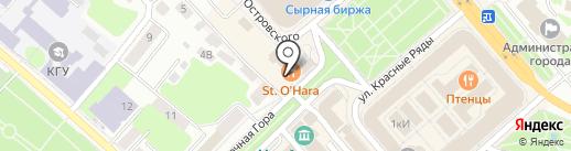 Сувениры от Снегурочки на карте Костромы