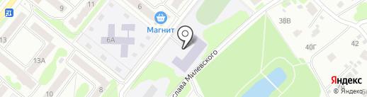 Школа-интернат Костромской области для обучающихся с ограниченными возможностями здоровья по слуху на карте Костромы