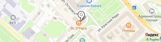 Сувенирная лавка на карте Костромы