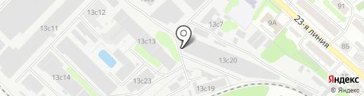 Инфотекс-Иваново на карте Иваново