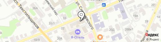 Кладовая льна на карте Костромы