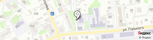 Специальная коррекционная общеобразовательная школа №3 для воспитанников с ограниченными возможностями здоровья на карте Костромы