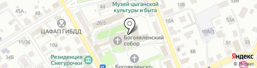 Костромская епархия Русской Православной Церкви на карте Костромы