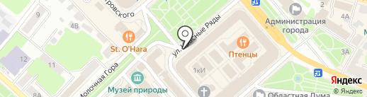 Лавка Ювелира на карте Костромы