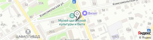 Юлианна на карте Костромы