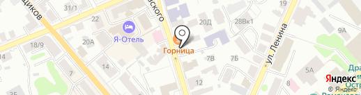 Костромская икона на карте Костромы