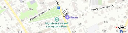Визит на карте Костромы