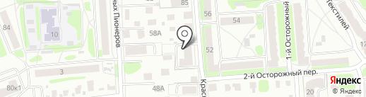 Экострой на карте Костромы
