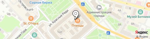 Магазин сувениров, подарков и ювелирных изделий на карте Костромы