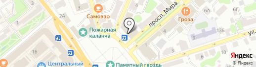 Медилон Фармимэкс на карте Костромы