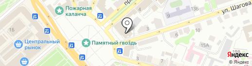 Костромской районный суд на карте Костромы