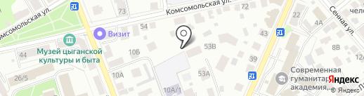 Служба муниципального заказа на карте Костромы